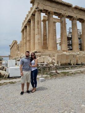 Acropolis and Parthenon