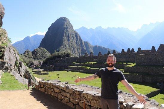 Central Plaza Machu Picchu