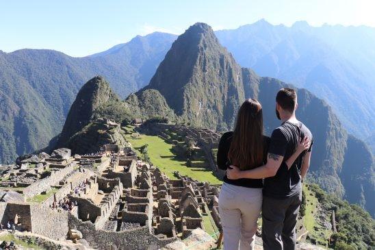 Visiting Machu Picchu Peru