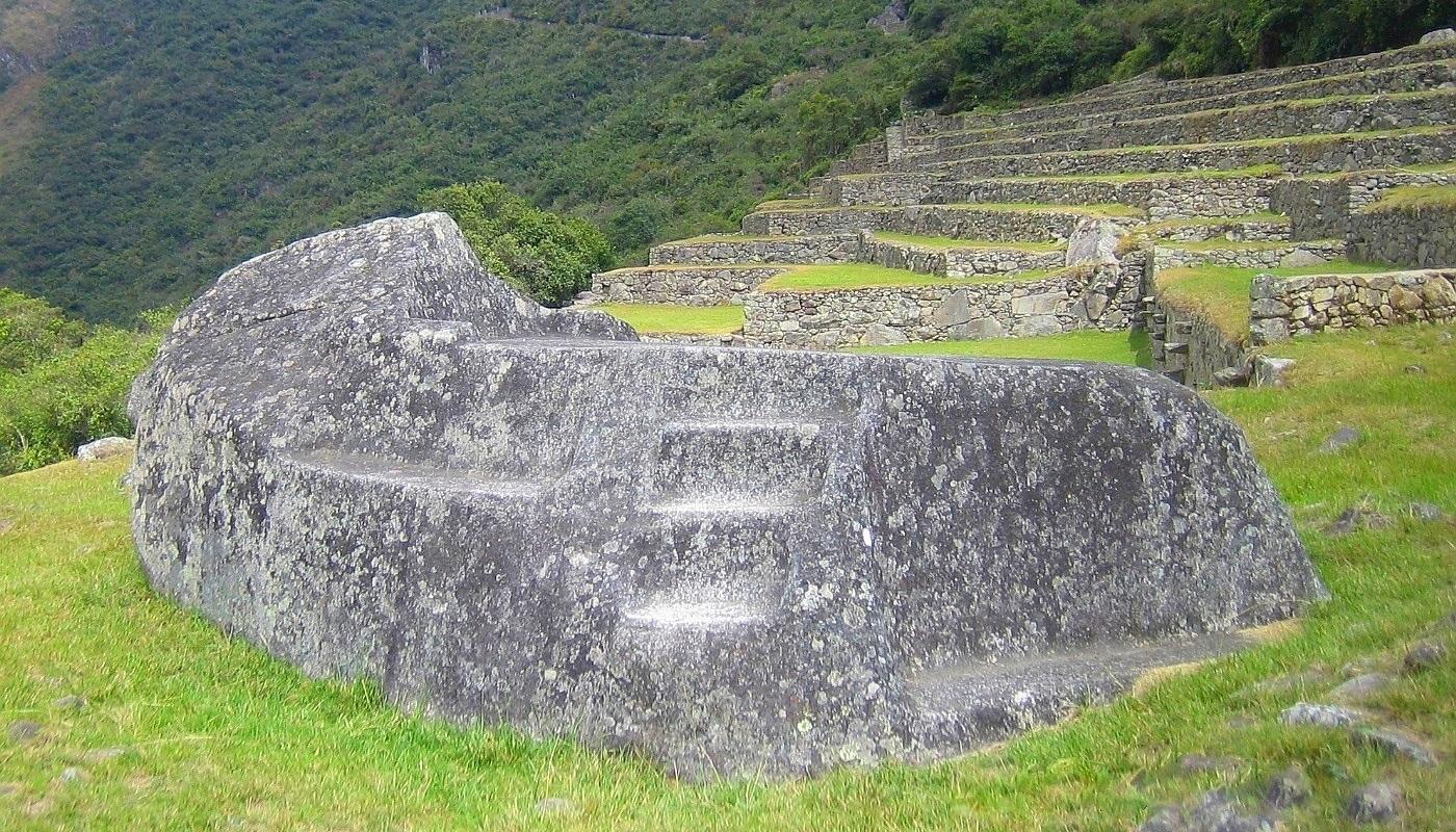 funerary stone machu picchu