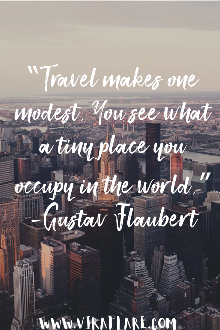 Modest Travel Quote