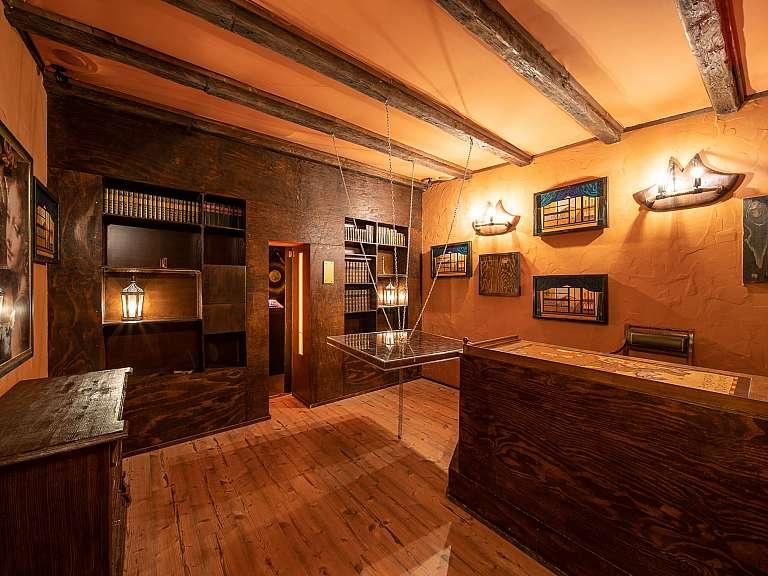 Leondardo Da Vincis Cabin