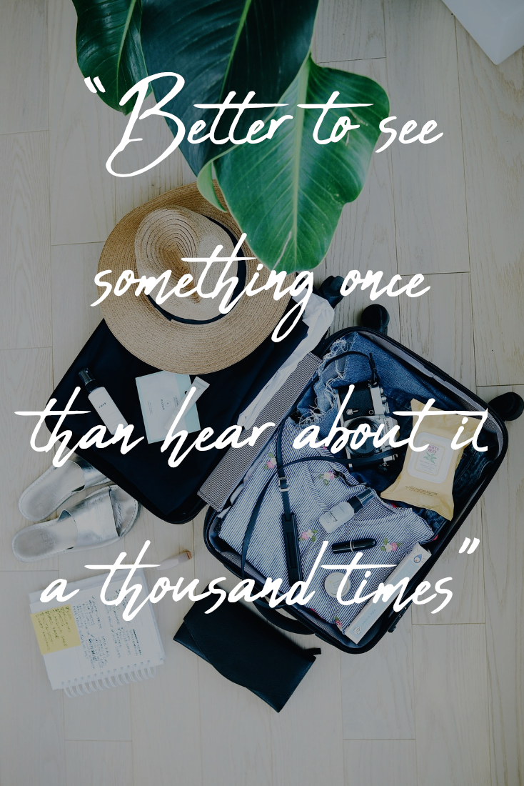 Traveling Abroad Quotes