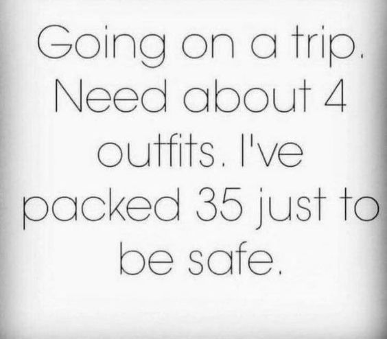 Travel Packing Memes