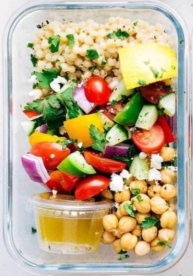 couscous salad meal prep