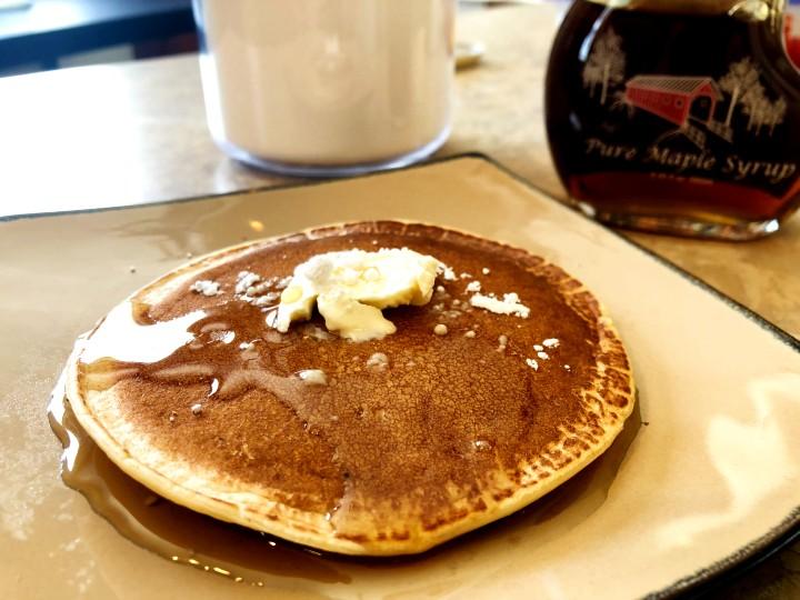 almond milk pancake thumbnail