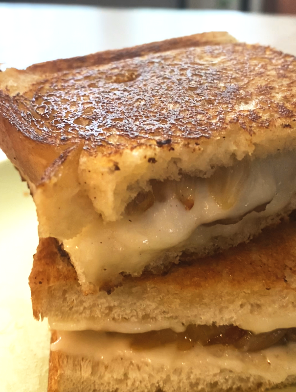 Patty Melt with Caramelized Onions